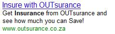 outsurance ppc
