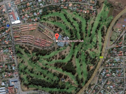 Greenest Golf Courses In Johannesburg via Google Maps