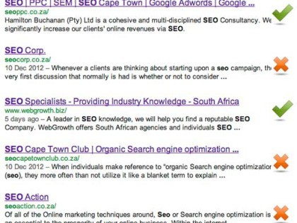 International SEO Company Spam In South Africa