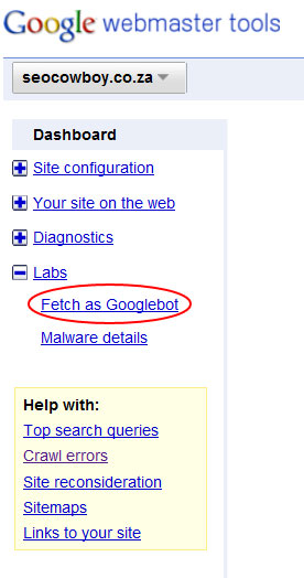 fetch as googlebot
