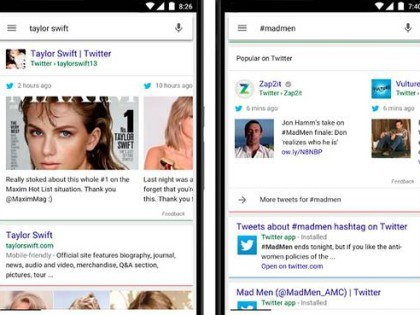 Tweets Back In Google Mobile Search